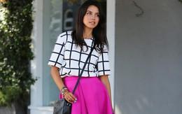 Cách chọn váy màu hồng nổi bật tự tin đến công sở