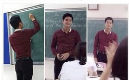 Thầy giáo đẹp trai, cao 1m80 hút hồn nữ sinh
