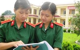 Những cặp chị em song sinh cùng theo học trường quân sự