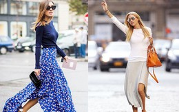 Biến hóa đa phong cách với chân váy maxi