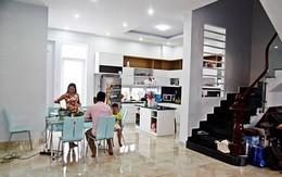 Thanh Thúy – Đức Thịnh sung sướng dọn về nhà mới