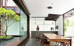 Nhà đẹp bởi thiết kế đơn giản và hiện đại