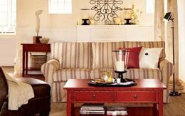 Mãn nhãn với phòng khách mang phong cách vintage