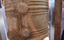 Phát hiện chuông cổ gần đền thờ nữ tướng thời Hai Bà Trưng