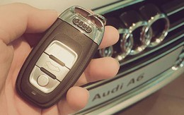 Thúy Hạnh được chồng tặng xe Audi nhân 9 năm ngày cưới