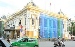 Sơn lại Nhà hát lớn Hà Nội mất bao nhiêu tiền?