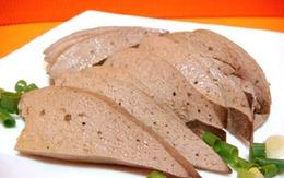 5 điều cần chú ý khi ăn gan lợn để bổ máu