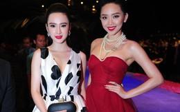 Angela Phương Trinh đọ sắc cùng Tóc Tiên trên thảm đỏ Tuần lễ thời trang quốc tế