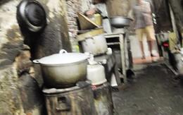 Kinh hoàng những bếp than âm ỉ giữa lòng phố cổ