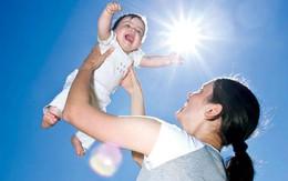 Trẻ sinh mùa hè thông minh hơn mùa đông?