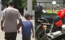 Bị tịch thu xe máy, bố bỏ con lại đồn cảnh sát