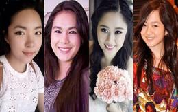 Ngỡ ngàng nhan sắc như hoa hậu của con gái sao Việt