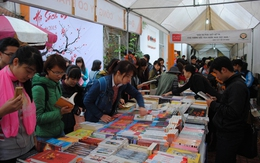 Hàng nghìn người tham dự Hội sách mùa xuân 2015