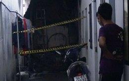 Người phụ nữ lao vào đám cháy cứu 2 cháu bé