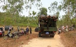 Cháy lớn, nhiều ha rừng bị thiêu hủy
