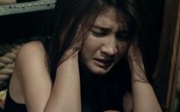 """Vợ Huy Khánh ngã """"dập mặt"""" vì... ma"""
