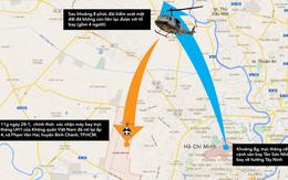 Trực thăng quân sự rơi tại TP HCM, 4 chiến sĩ hy sinh