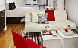 Thiết kế không gian lý tưởng cho căn hộ không phòng ngủ
