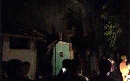 Nổ bình gas, 3 nhà sập, 1 người tử vong