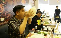 """Dân Hà thành háo hức với lời thách thức ăn bát phở """"khổng lồ"""""""