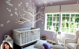 Phòng ngủ đẹp như mơ của con nhà sao