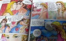 """""""Sốc"""", ngượng chín mặt khi đọc truyện tranh dành cho trẻ em"""