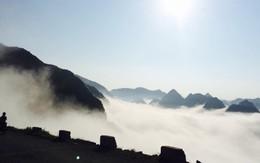 """""""Săn mây"""" đẹp diệu kỳ như thiên giới ở cao nguyên đá Đồng Văn"""