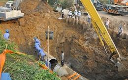 Khởi công đường ống nước sông Đà thứ 2 sau 15 lần vỡ đường ống 1