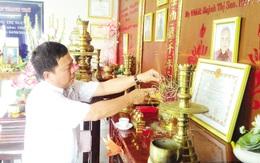 Chuyện lạ về căn phòng thờ 3 Mẹ Việt Nam anh hùng và 9 liệt sĩ ở Bình Dương