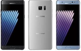 Galaxy Note 7 màn hình cong lộ diện với ba màu