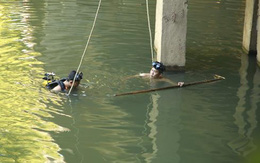 Tìm kiếm người phụ nữ nhảy sông nghi tự tử vì chồng ngoại tình