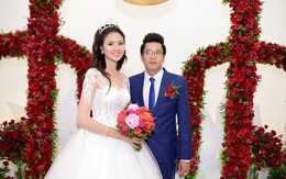 """Đám cưới lần hai của """"gái xấu"""" Lê Phương và chồng bác sĩ"""