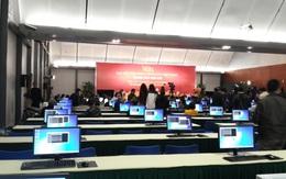 Thiết bị hiện đại trong trung tâm Báo chí phục vụ Đại hội Đảng