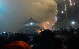 Cháy lớn tại đền thờ Ấn Độ, hơn 275 người thương vong