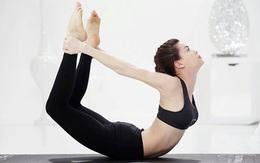 Mỹ nhân Việt khoe dáng nóng bỏng khi tập yoga