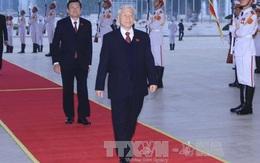 Hình ảnh ngày khai mạc phiên họp trù bị Đại hội lần thứ XII của Đảng