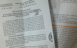 Bán cổ phần Cty Khảo sát và Đo đạc Hà Nội: Sai quy chế sai nhưng… chỉ rút kinh nghiệm