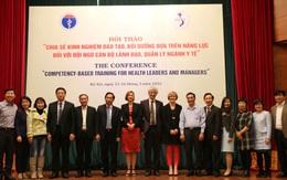 """Hội thảo """"Đào tạo, bồi dưỡng dựa trên năng lực đối với đội ngũ cán bộ lãnh đạo, quản lý ngành y tế"""""""