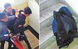 Bé gái 7 tuổi cuộn tròn trong ba lô của nghi phạm bắt cóc