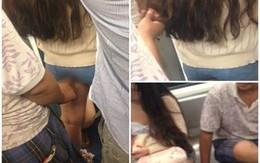 Thiếu nữ tủi hổ đến bất lực khi bị sàm sỡ trước đám đông