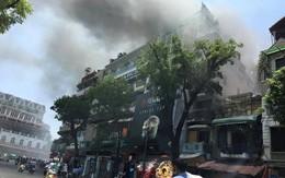 Cháy gần tòa nhà Hàm Cá mập giữa thủ đô