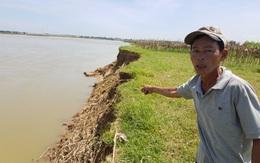 Quảng Nam: Dân bất an vì ghe hút cát
