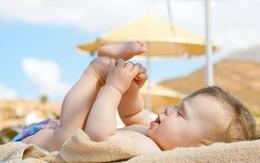 Bí quyết giúp trẻ không giật mình, ra mồ hôi trộm khi ngủ