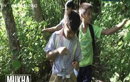 Cậu bé vượt 2 sông 4 núi đến trường mỗi ngày