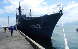 Tàu Hải quân Nhật Bản và Hoa Kỳ tới Đà Nẵng