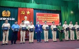 Công an Đà Nẵng được tăng thêm máy đo nồng độ cồn