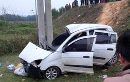 Đối đầu xe tải, tài xế xe con tử vong tại chỗ