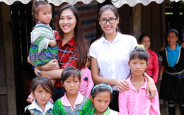 Người đẹp có hình thể vàng xây trường tặng trẻ em nghèo