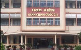 """Sinh viên tố cáo việc thu tiền để """"lo"""" cho cán bộ Học viện Hành chính Quốc gia"""