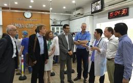 Đại sứ Liên minh châu Âu thăm hai bệnh viện lớn của Việt Nam